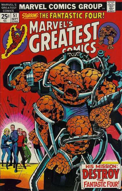 Marvel's Greatest Comics 51 - Jack Kirby, Joe Sinnott
