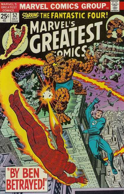 Marvel's Greatest Comics 52 - Jack Kirby, Joe Sinnott