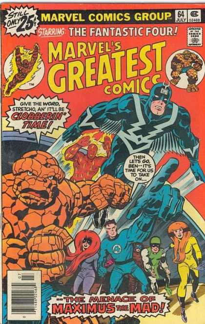 Marvel's Greatest Comics 64 - Joe Sinnott