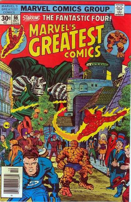 Marvel's Greatest Comics 66 - Jack Kirby, Joe Sinnott