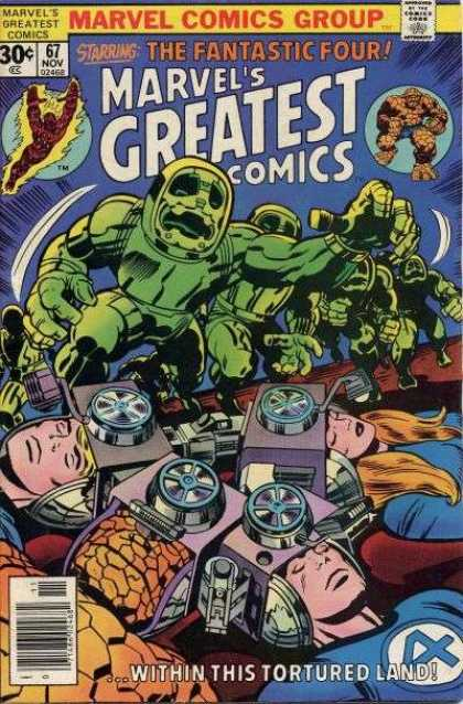 Marvel's Greatest Comics 67 - Jack Kirby