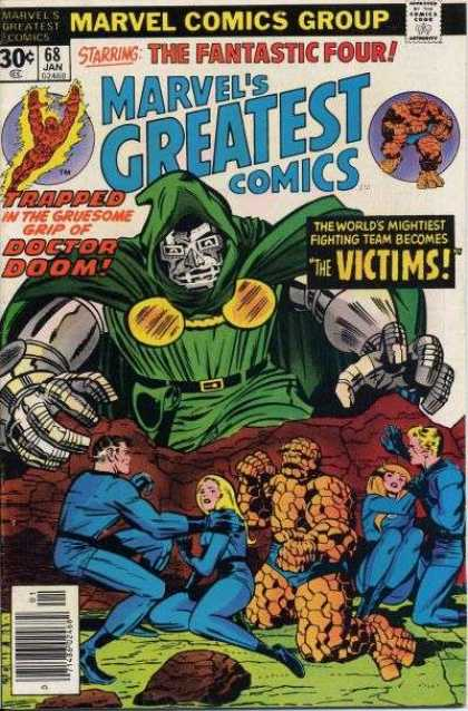 Marvel's Greatest Comics 68 - 30c - 68 Jan - Doctor Doom - The Fantastic Four - Victims - Jack Kirby, Joe Sinnott