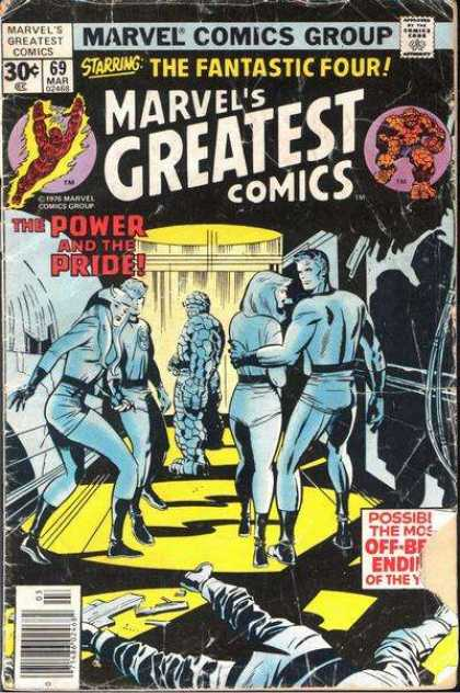 Marvel's Greatest Comics 69 - Fantastic Four - The Thing - The Human Torch - Invisible Woman - The Power And The Pride - Jack Kirby, Joe Sinnott