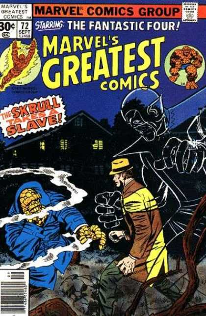 Marvel's Greatest Comics 72 - Jack Kirby, Joe Sinnott