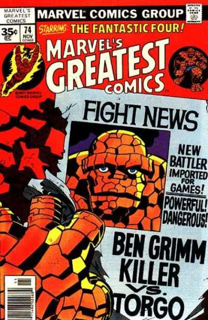 Marvel's Greatest Comics 74 - Jack Kirby, Joe Sinnott