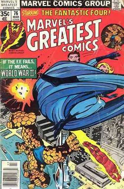 Marvel's Greatest Comics 76 - Jack Kirby, Joe Sinnott