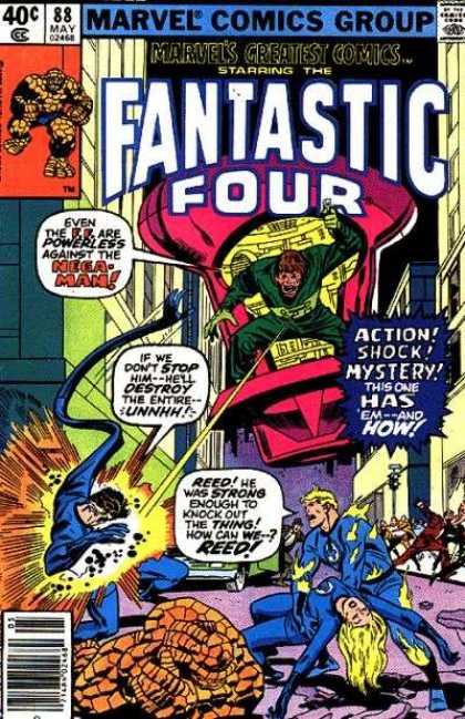 Marvel's Greatest Comics 88 - Mission - Adventure - Happenings - Events - Going Places