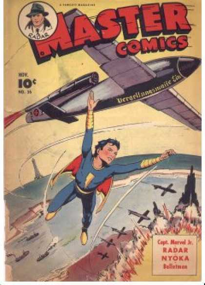 Master Comics 56 - Radar - Superman - Airplane - Fly - Flying
