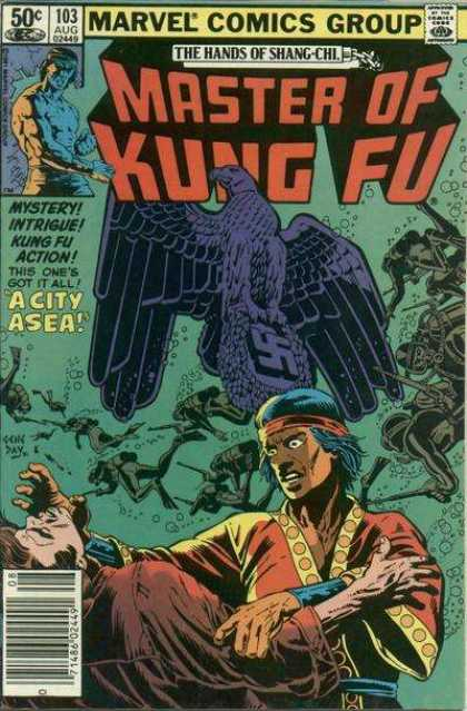 Master of Kung Fu 103 - Marvel - A City Asea - The Hands Of Shang-chi - Mystery Intrigue - Action