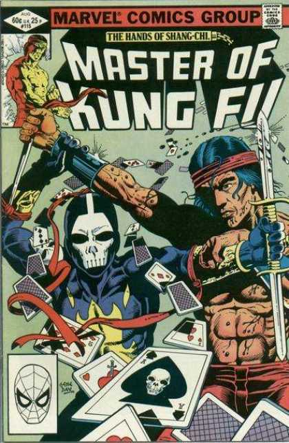 Master of Kung Fu 115 - Marvel Comics - The Hands Of Shang-chi - Master Of Kung Fu - Spiderman - Cards