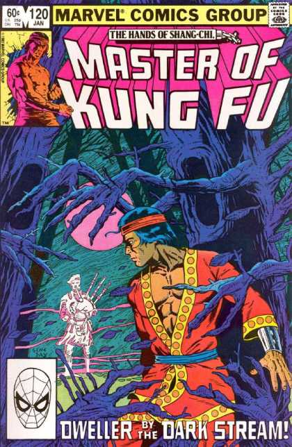Master of Kung Fu 120 - Approved By The Comics Code - Man - The Hands Of Shang-chi - Tree - Dweller
