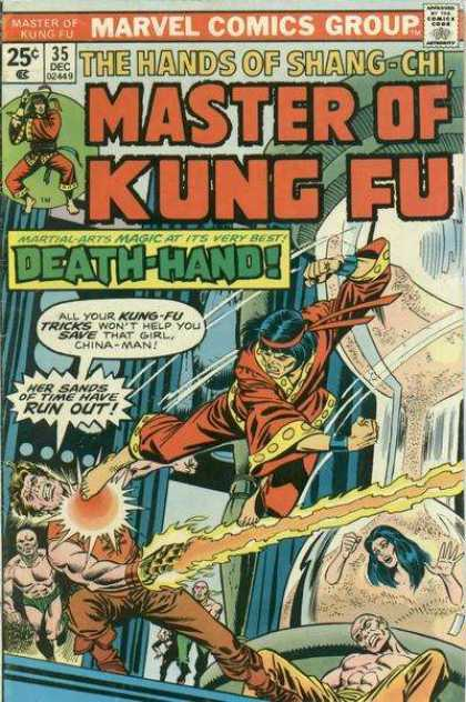 Master of Kung Fu 35 - Hands Of Shang-chi - Marvel - 35 Dec - Death-hand - Sands Of Time