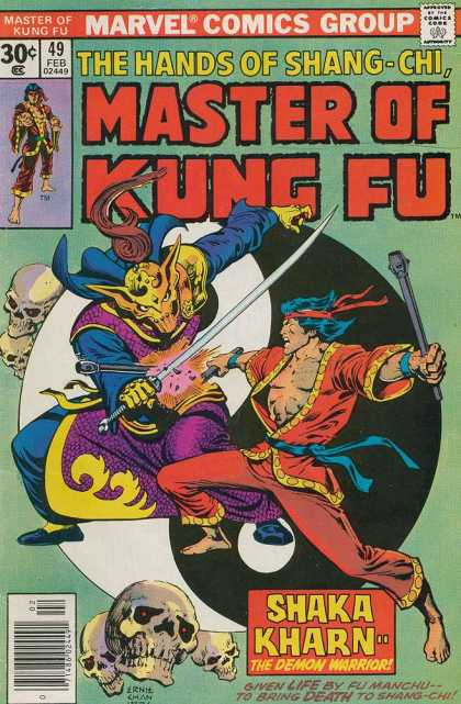 Master of Kung Fu 49 - Ernie Chan