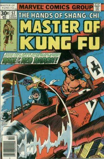 Master of Kung Fu 57 - Dave Cockrum, Ernie Chan