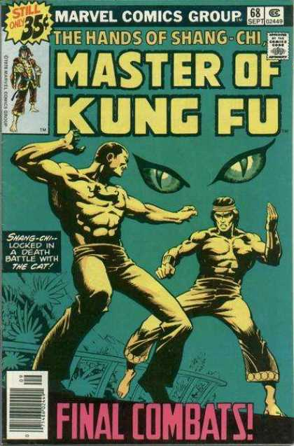 Master of Kung Fu 68 - Shang-chi - The Cat - Martial Arts - Eyes - Muscles