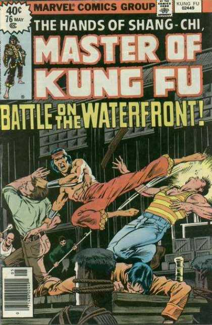 Master of Kung Fu 76 - 40 Cents - Pirates - Kung Fu - Explosion - Kick