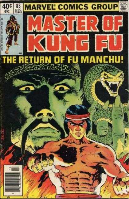 Master of Kung Fu 83 - Marvel - Return Of Fu Manchu - Volume 1 83 - Shang-chi - Warriors Of The Golden Dawn Chapter 1