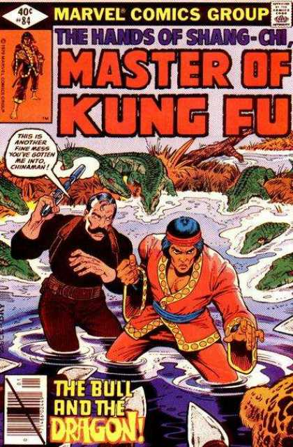 Master of Kung Fu 84 - Croc Land - Double Trouble - Dieing Pool - Hunter And Hunted - Sinking In Danger