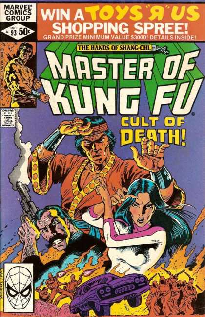 Master of Kung Fu 93 - Marvel - The Hands Of Shang-chi - Cult Of Death - Win A Toys R Us - Shopping Spree