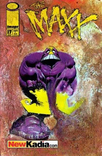 Maxx 17 - Purple - 17 - Newkadiacom - Paintings - Muscles - Sam Kieth
