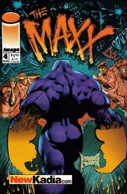 Maxx 4 - Newkadiacom - Large Muscular Purple Person - Magic - Image - Nake Purple Person - Sam Kieth
