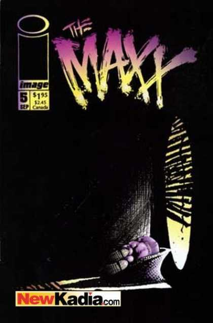 Maxx 5 - New Kadiacom - Darkness - Sleep - Image - Window - Sam Kieth