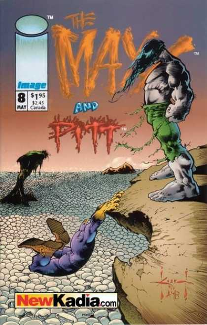 Maxx 8 - Pitt - Wind - Green Pants - Cliff - Fall - Sam Kieth