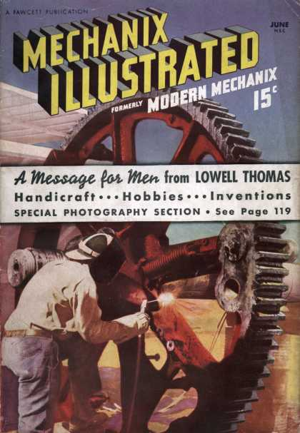 Mechanix Illustrated - 6-1938