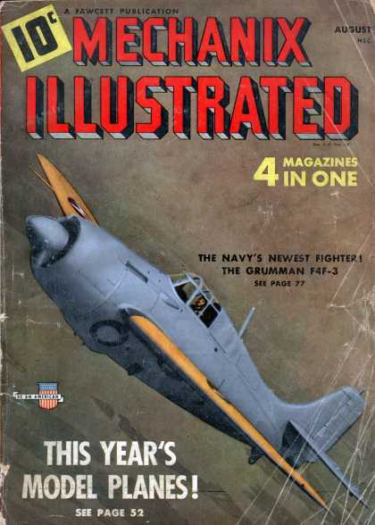 Mechanix Illustrated - 8-1941