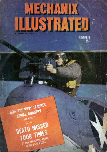 Mechanix Illustrated - 11-1943
