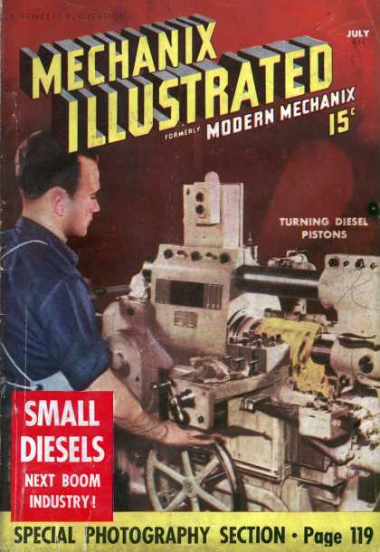 Mechanix Illustrated - 7-1938