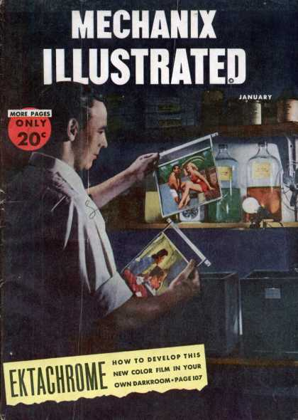Mechanix Illustrated - 1-1947