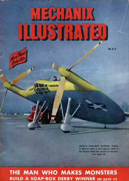 Mechanix Illustrated - 5-1947