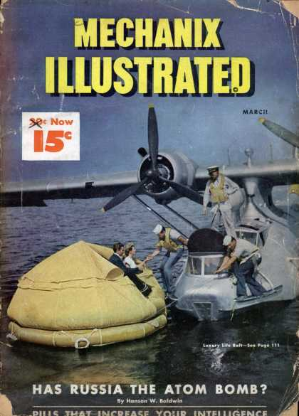 Mechanix Illustrated - 3-1948