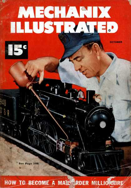 Mechanix Illustrated - 10-1951