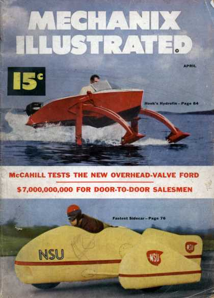 Mechanix Illustrated - 4-1952
