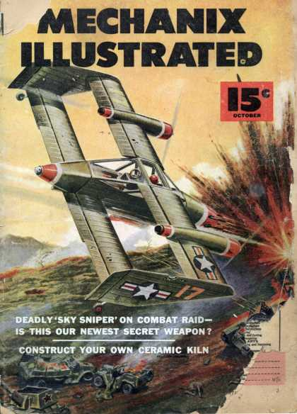 Mechanix Illustrated - 10-1952