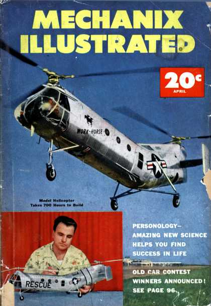 Mechanix Illustrated - 4-1953