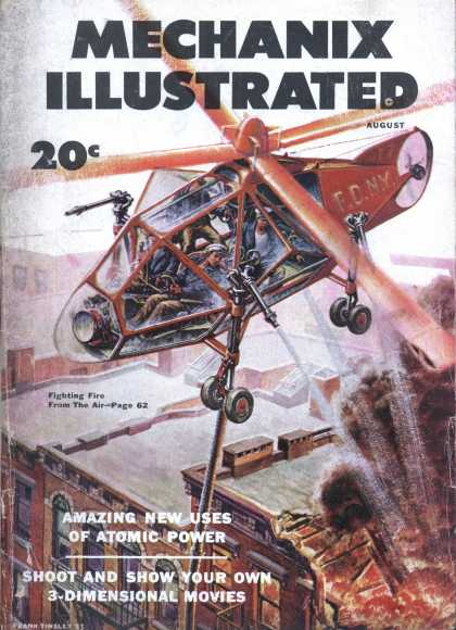 Mechanix Illustrated - 8-1953