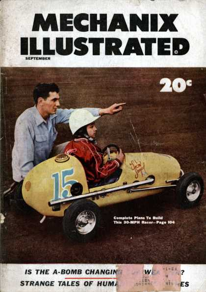 Mechanix Illustrated - 9-1953