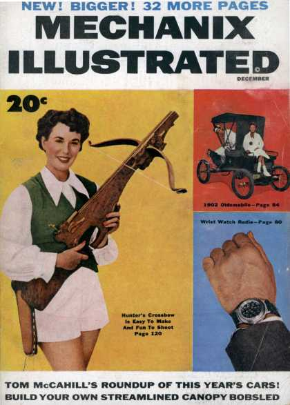 Mechanix Illustrated - 12-1953