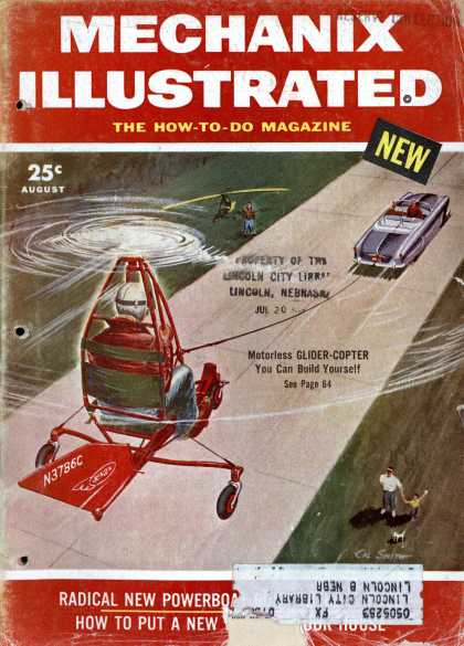 Mechanix Illustrated - 8-1954