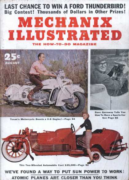 Mechanix Illustrated - 8-1955