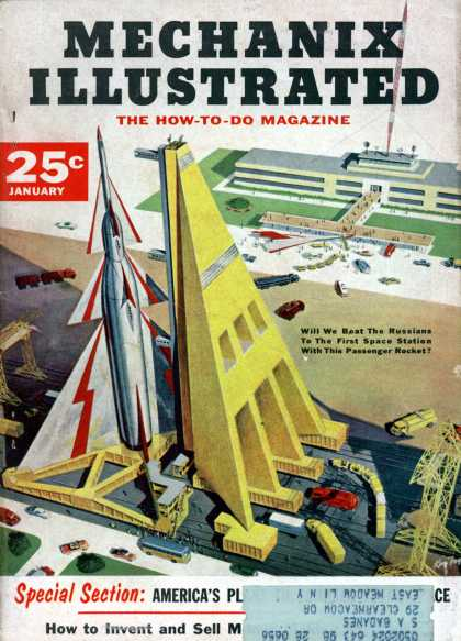 Mechanix Illustrated - 1-1956