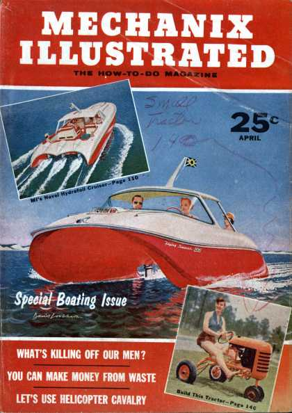 Mechanix Illustrated - 4-1956