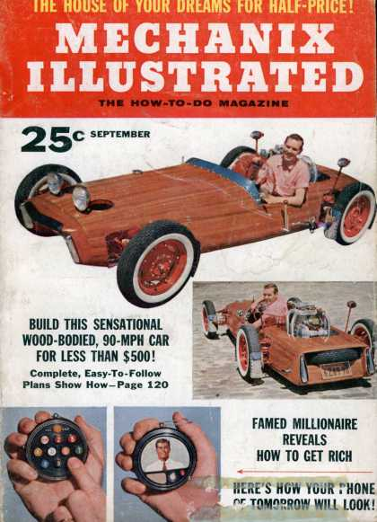 Mechanix Illustrated - 9-1956