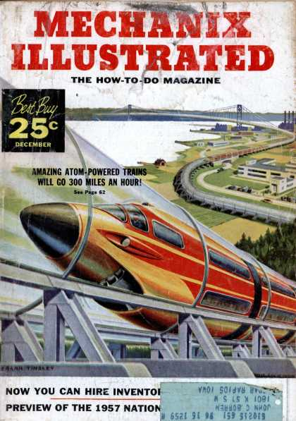 Mechanix Illustrated - 12-1956