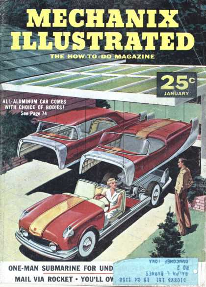 Mechanix Illustrated - 1-1957