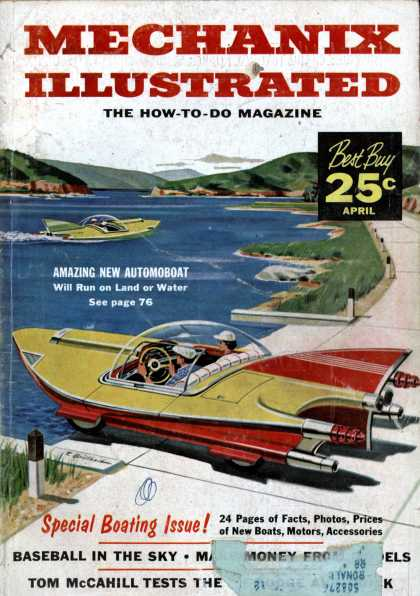 Mechanix Illustrated - 4-1957