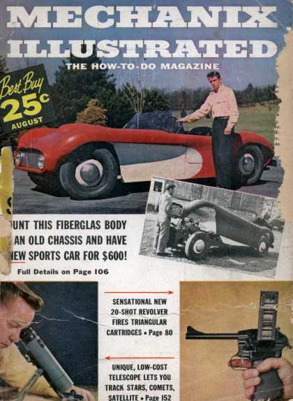 Mechanix Illustrated - 8-1957